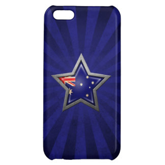 Australian Flag Star with Rays of Light iPhone 5C Cover