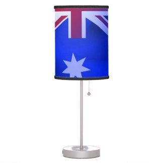 Australian flag table lamp