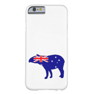 Australian Flag - Tapir Barely There iPhone 6 Case