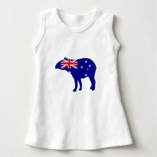 Australian Flag - Tapir Dress