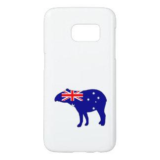 Australian Flag - Tapir Samsung Galaxy S7 Case