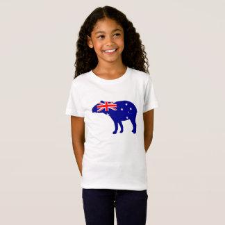 Australian Flag - Tapir T-Shirt