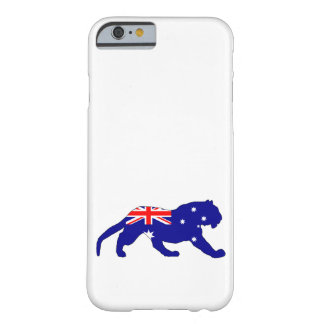 Australian Flag - Tiger Barely There iPhone 6 Case