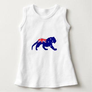 Australian Flag - Tiger Dress
