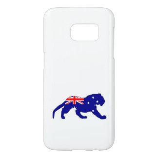 Australian Flag - Tiger Samsung Galaxy S7 Case