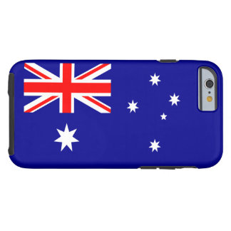 Australian Flag Tough iPhone 6 Case