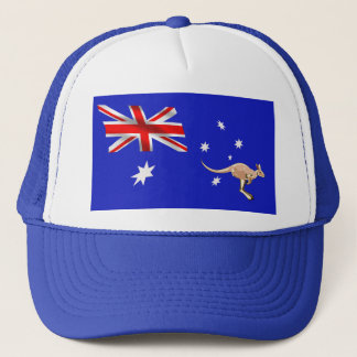 Australian flag trucker hat