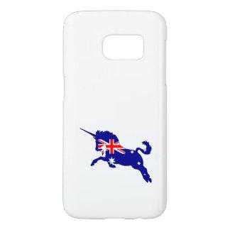 Australian Flag - Unicorn Samsung Galaxy S7 Case