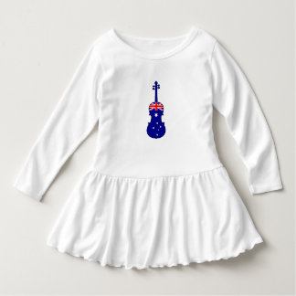 Australian Flag - Viola Dress
