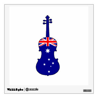 Australian Flag - Viola Wall Sticker