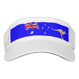 Australian flag visor