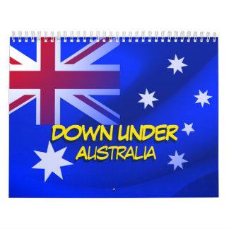 Australian flag wall calendars