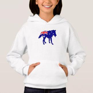 Australian Flag - Wolf