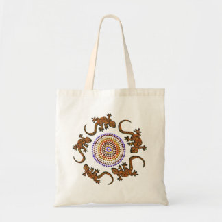 Australian Gecko Circle Animal-lovers' Art Bag