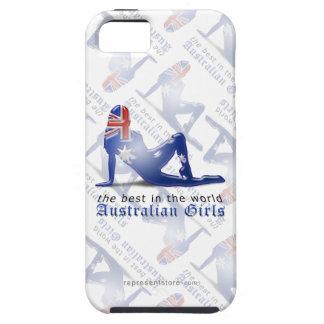 Australian Girl Silhouette Flag iPhone 5 Cover