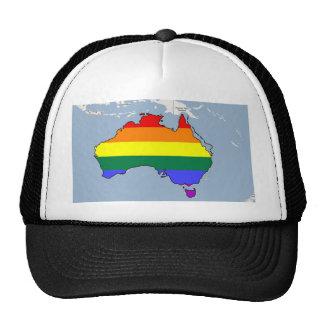 Australian GLBT Pride Trucker Hat