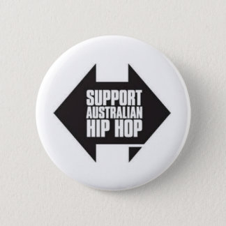 Australian hip hop button
