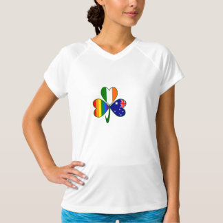 Australian Irish Gay Pride Shamrock T-Shirt