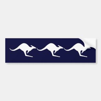 Australian Kangaroo Car Bumper Sticker
