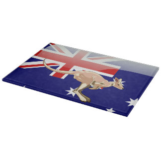 Australian kangaroo cutting board