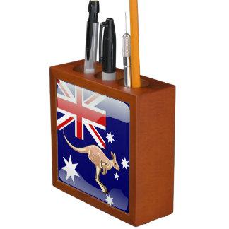 Australian kangaroo desk organizer