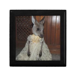 Australian Kangaroo Joey Jewelry Box