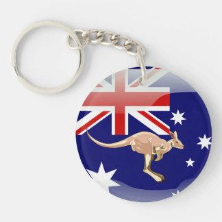 Australian kangaroo keychain