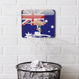 Australian kangaroo mini basketball hoop