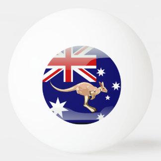 Australian kangaroo ping pong ball