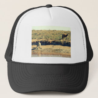 Australian kangoroo trucker hat