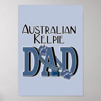 Australian Kelpie DAD Posters