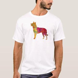 Australian Kelpie in watercolor T-Shirt