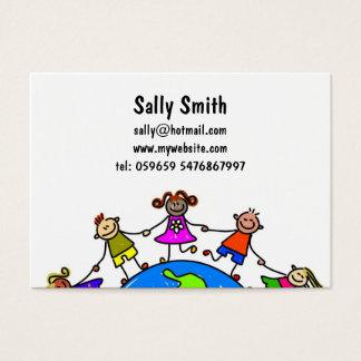 Australian Kids Business Card