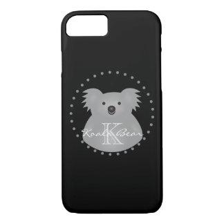 Australian Koala Bear Cute Add Your Name Monogram iPhone 8/7 Case