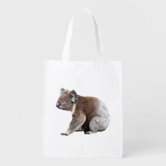 Australian Koala Bear Reusable Grocery Bags