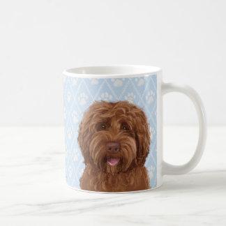 Australian labradoodle coffee mug