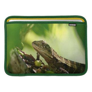 """Australian lizard hiding between leaves, 11"""" Air MacBook Sleeve"""