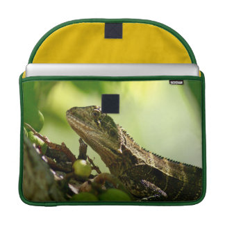 "Australian lizard hiding between leaves, 15"" Photo Sleeve For MacBook Pro"