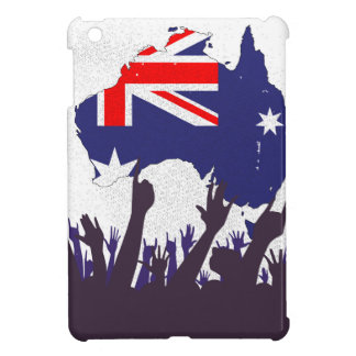 Australian Map And Flag with Audience iPad Mini Cover