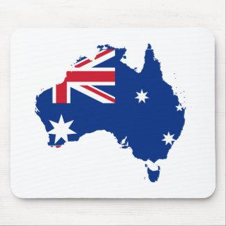 Australian Map Mousepads
