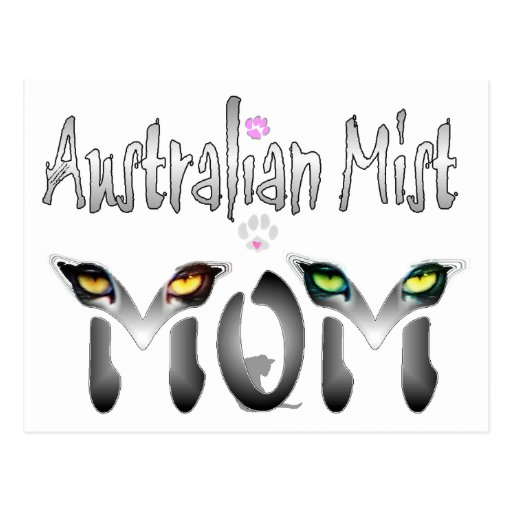 Australian Mist Mom Gifts Postcard