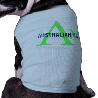 Australian Mist Monogram Design Pet Tshirt