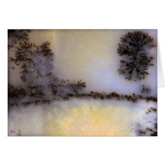 Australian Moss Agate Card