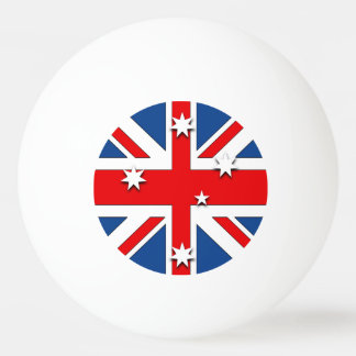 Australian National Flag Ping Pong Ball