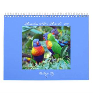Australian Native Animals Calendars