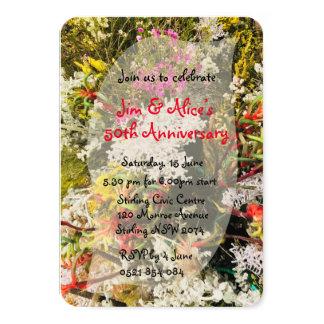 Australian Native Wildflowers Card