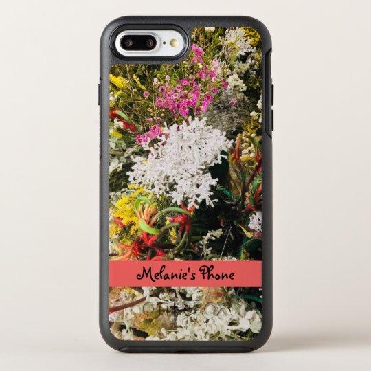 Australian Native Wildflowers OtterBox Symmetry iPhone 8 Plus/7 Plus Case