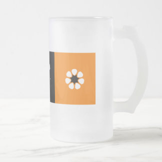 Australian Northern Territory Flag Frosted Glass Beer Mug