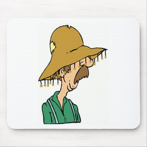 Australian Old Man Mouse Pad
