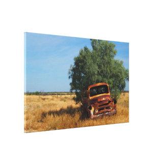 Australian outback canvas print